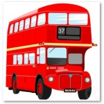 London is famous for its red double-decker buses