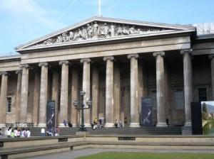 British Museu pääsisäänkäynti