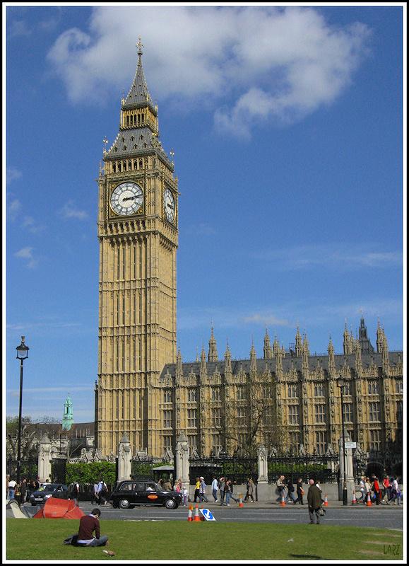Big Ben London For Tourists
