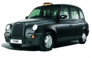 London taxi/cab
