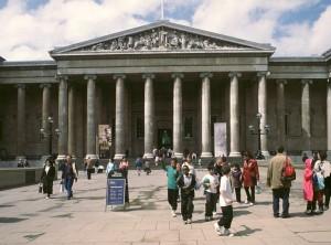 Brittish Museum pääsisäänkäynti