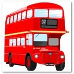 Lontoo tunnetaan punaisista kaksikerros busseita