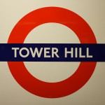 Tower Hill Tube Sign